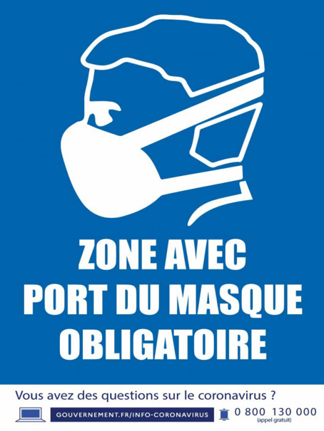 [ Informations masques en magasin ]